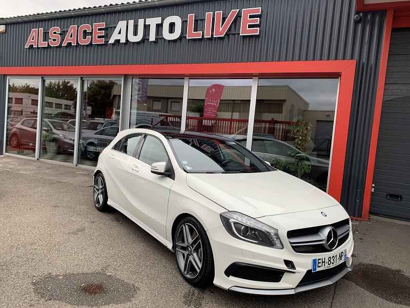 Mercedes-Benz CLASSE A (W176) 45 AMG 4MATIC SPEEDSHIFT-DCT Essence BLANC Occasion à vendre