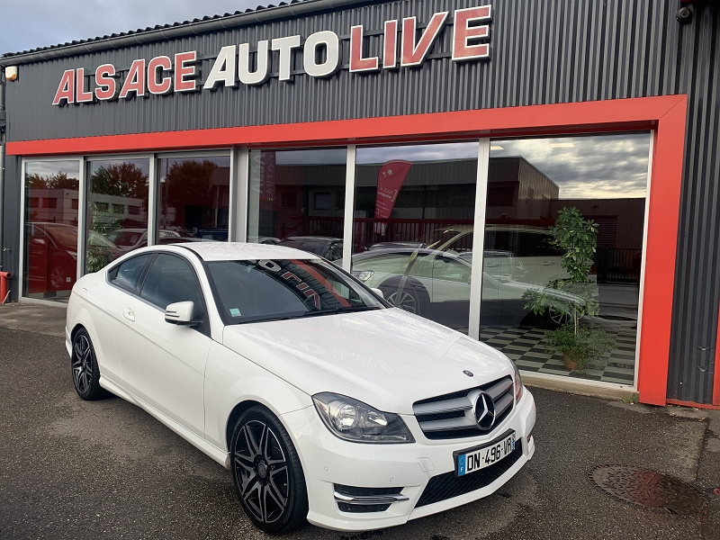 Mercedes-Benz CLASSE C COUPE (C204) 250 CDI BE EXECUTIVE 7GTRO+ Diesel BLANC Occasion à vendre